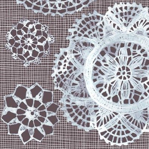 doilies on net