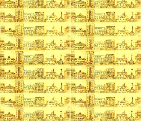 city_scape_001 fabric by faythe on Spoonflower - custom fabric