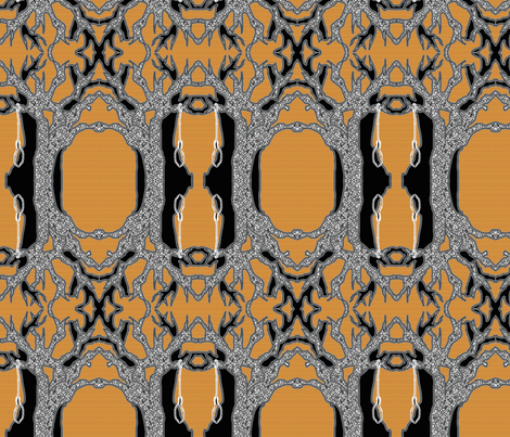 Sleepy Hollow Hanging Tree fabric by thejester on Spoonflower - custom fabric