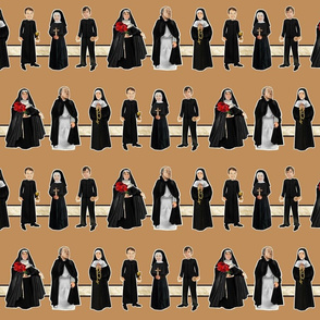 Happy Nuns and Priests
