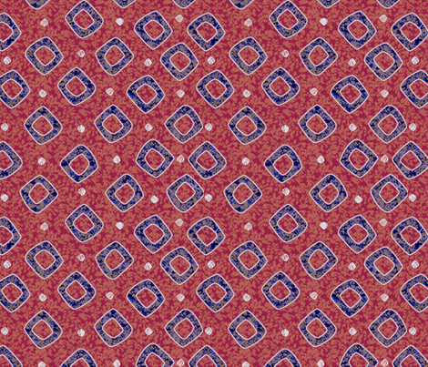 diamond_cherries fabric by glimmericks on Spoonflower - custom fabric