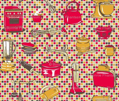 Retro Kitchen Appliances - Tomatoe