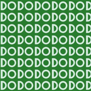 """Do"" in green"