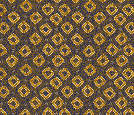 diamond_cherries_golden_glows fabric by glimmericks on Spoonflower - custom fabric