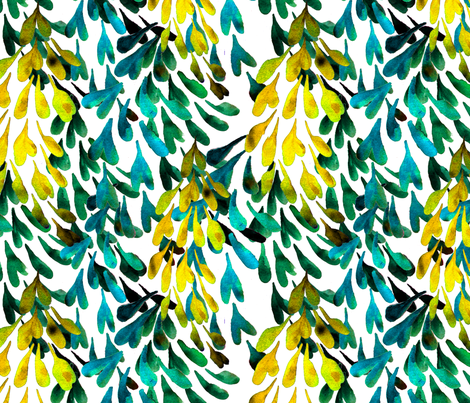 laburnum fabric by wednesdaysgirl on Spoonflower - custom fabric