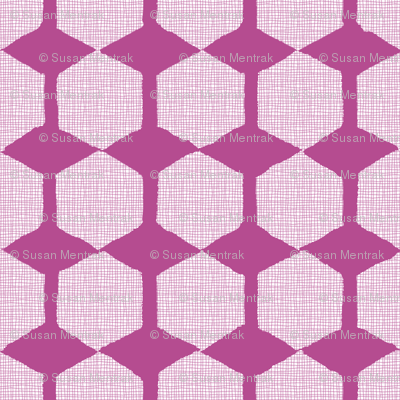 Negative Space Hexagons