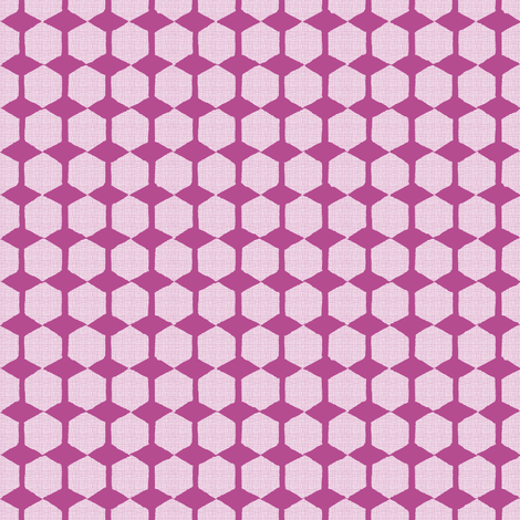 Negative Space Hexagons fabric by joybucket on Spoonflower - custom fabric