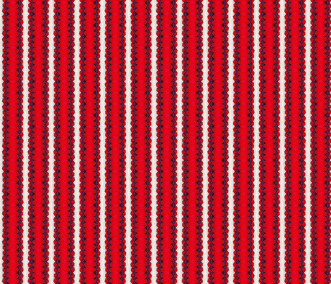 Red Lace Stripe fabric by siya on Spoonflower - custom fabric