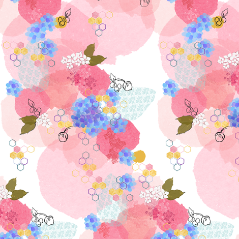 Rambling Garden fabric by joybucket on Spoonflower - custom fabric