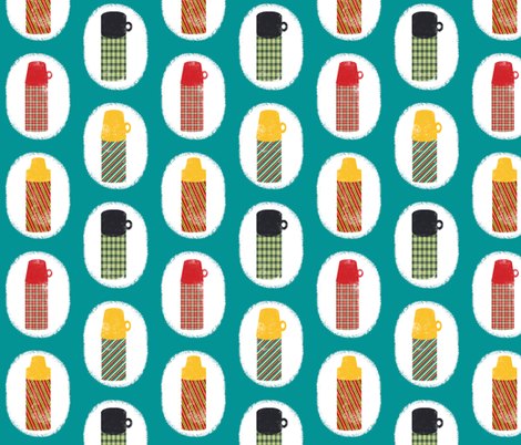 Thermos Collector fabric by heidikenney on Spoonflower - custom fabric