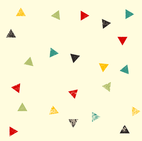 Thermos triangles fabric by heidikenney on Spoonflower - custom fabric