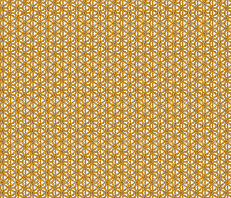 trinity-gold-white250 fabric by wren_leyland on Spoonflower - custom fabric
