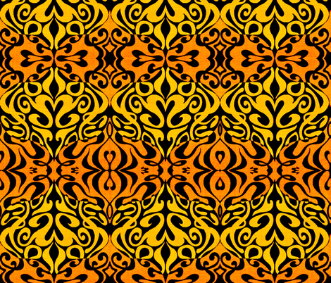 Time Warp fabric by whimzwhirled on Spoonflower - custom fabric