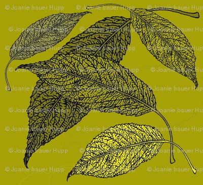 BAUER-LeafFabricGreen