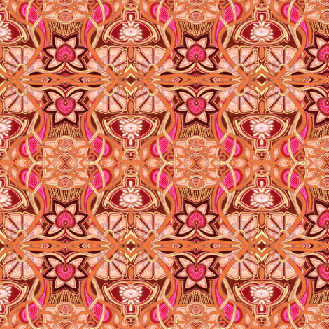 Lei Down on the Beach fabric by edsel2084 on Spoonflower - custom fabric