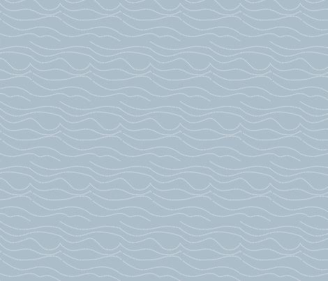 plain wave beachside fabric by creative_merritt on Spoonflower - custom fabric