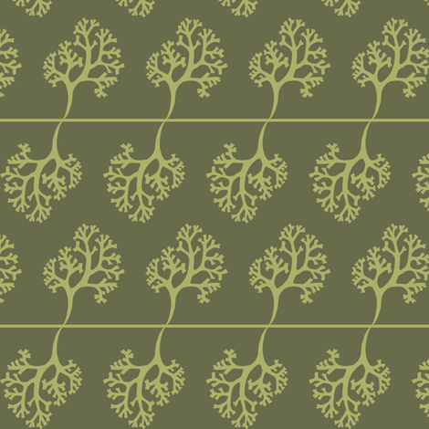 seaweed beachside fabric by creative_merritt on Spoonflower - custom fabric