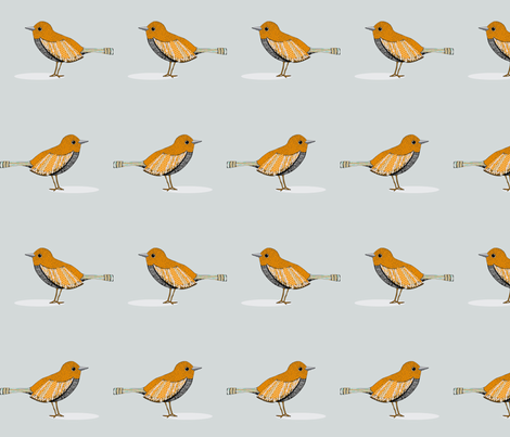 bird fabric by doopsdesigns on Spoonflower - custom fabric
