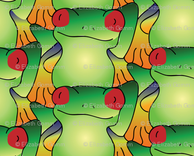 Tessellating Frogs