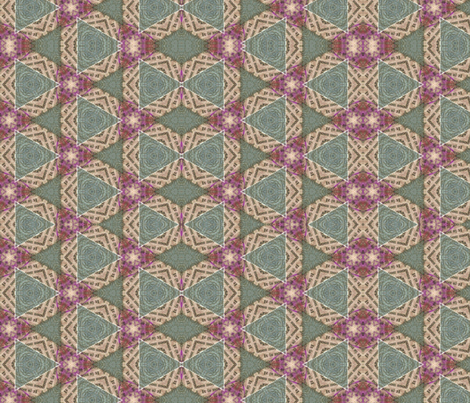 Chekov's Triangles fabric by anniedeb on Spoonflower - custom fabric