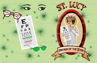 St. Lucy's Glasses