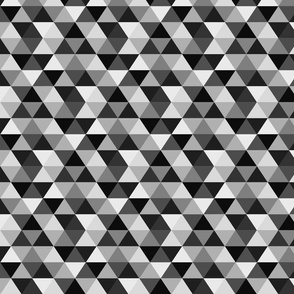 Triangles and Hidden Diamonds - Grays