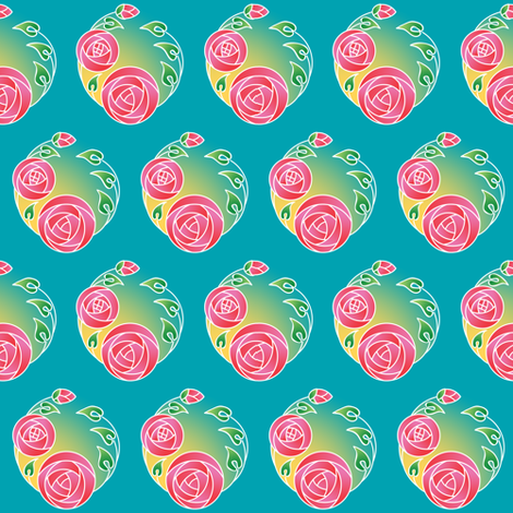 Macintosh May fabric by phantomssiren on Spoonflower - custom fabric