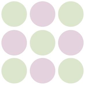 Purple Artichokes dots