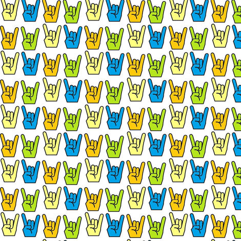 Rock_On_YO fabric by smgarcia on Spoonflower - custom fabric
