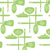 Kitchenwares Retro Sage
