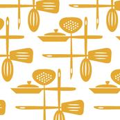 Kitchenwares Retro Butterscotch