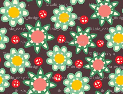 loopy floral