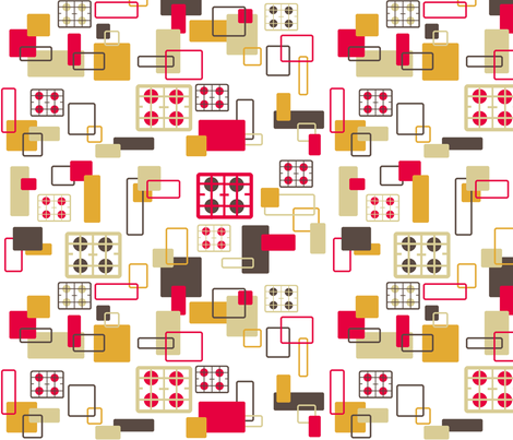 Hobs Kitchen fabric by squeakyangel on Spoonflower - custom fabric