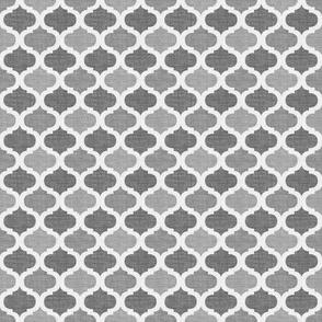 Linen tile CHARCOAL
