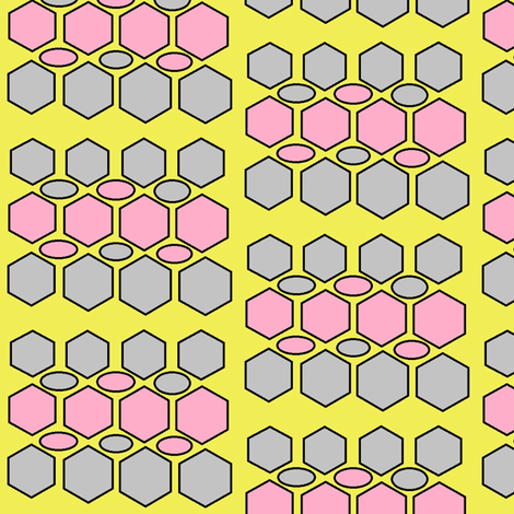 Hex-Awesome fabric by smgarcia on Spoonflower - custom fabric