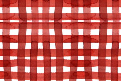 c'est la viv_picnic gingham fabric by cest_la_viv on Spoonflower - custom fabric