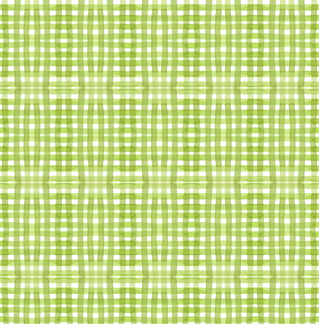 cestlaviv_spring gingham fabric by cest_la_viv on Spoonflower - custom fabric