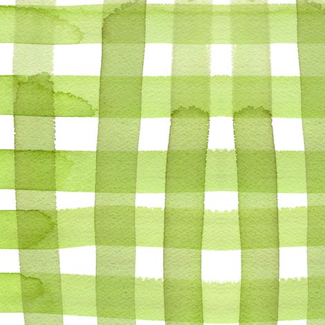 cestlaviv_spring gingham fabric by cest_la_viv on Spoonflower - custom fabric