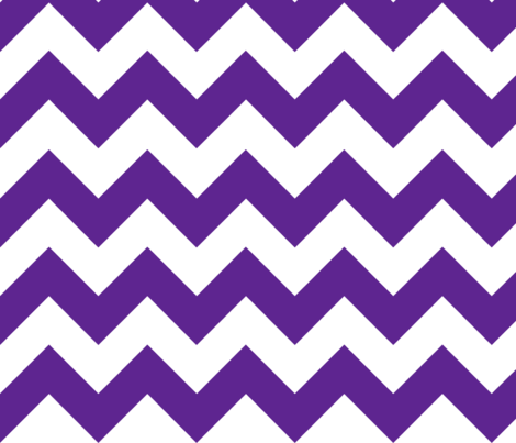 Purple Chevron fabric by megankaydesign on Spoonflower - custom fabric