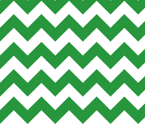 Green Chevron fabric by megankaydesign on Spoonflower - custom fabric