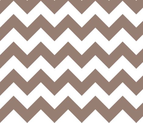 Gray Chevron fabric by megankaydesign on Spoonflower - custom fabric