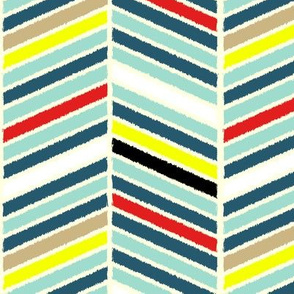 Multi-color chevron