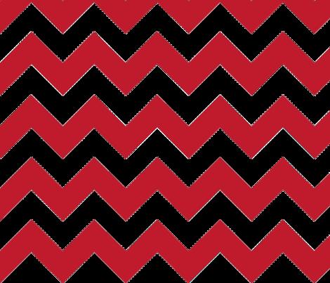 Red Chevron fabric by megankaydesign on Spoonflower - custom fabric