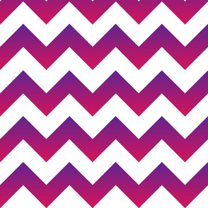Purple to Pink Ombre Chevron