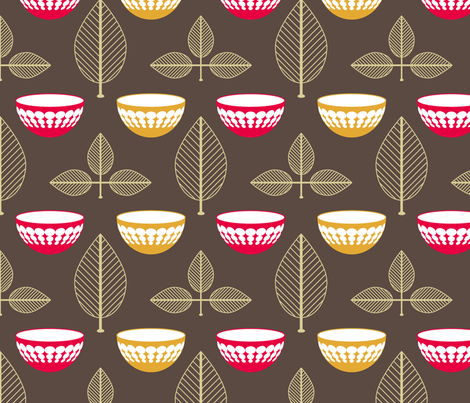 Vintage Pyrex fabric by laurendahl on Spoonflower - custom fabric