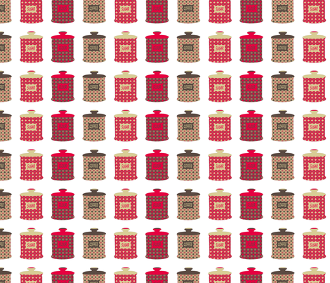 Jars fabric by alexsan on Spoonflower - custom fabric