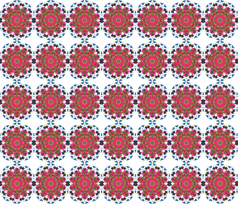 Are you impatient for impatiens? fabric by anniedeb on Spoonflower - custom fabric