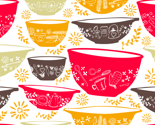 Retro Mixing Bowls