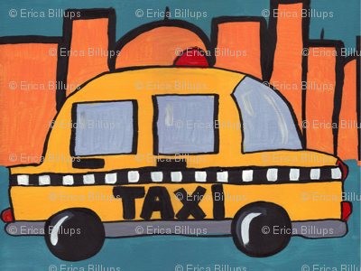 Big City Beep Beep - Taxi Traffic Jam