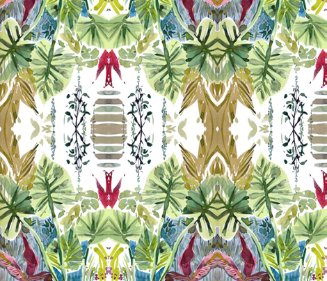 cestlaviv_jade fabric by cest_la_viv on Spoonflower - custom fabric